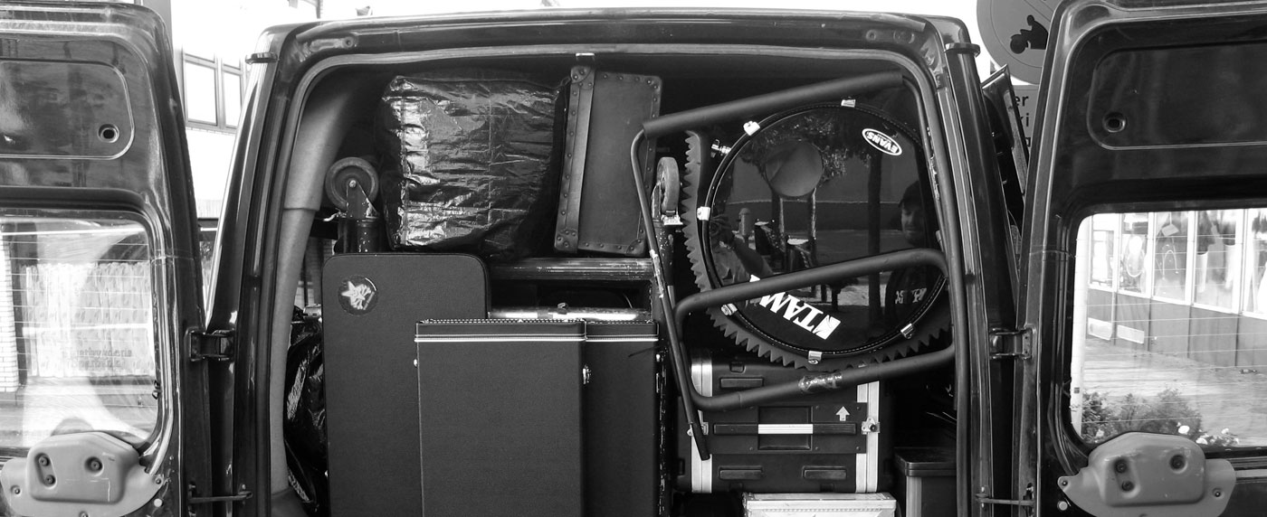 Track what's in your van (and what's been taken)